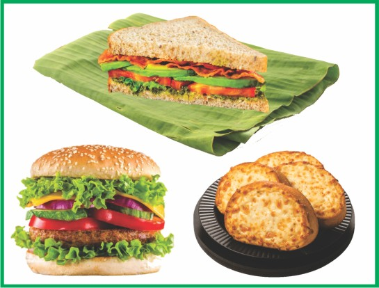 Burger/Sandwich/Garlic Bread